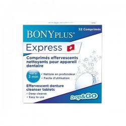EXPRESS 32, 3 BOÎTES PASTILLES DE NETTOYAGE DES ORTHÈSES