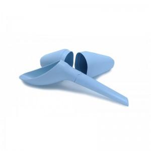 Le dispositif pour uriner debout Pissedebout est simple, pratique, démontable et lavable.