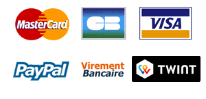 master card visa Twint virement banquaire